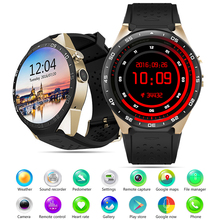 "Kingwear KW88 Better than KW18 3G WCDMA WIFI 1.39""Smartwatch Cell Phone All-in-One Heart Rate Monitor android 5.1 OS Smart watch(China)"