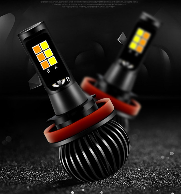 New-Car-LED-Dual-color-Fog-lamps-H3-H7-H11-H8-H9-HB3-HB4-9005-9006(1)