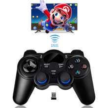 Newest 2.4GHz Wireless Game Controller Gamepad Joystick For Xbox 360 PS3 Controller for Android Mobile Phone/TV Box/Tablets PC