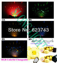 Free Shipping 5PCS Turtle Night Light Stars Constellation Lamp with MP3 AUDIO SPEAKER and USB Power line, Music Lights BY DHL(China)