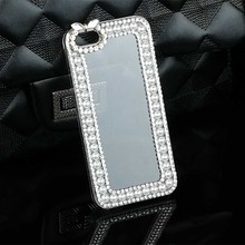Bling Jewelry Case for iPhone 6 6s Plus 4 4S 5 5S SE 5C 7 7 Plus Luxury Crystal PC Hard Cell Phones Cover Case Coque Accessories
