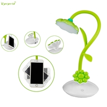 CARPRIE Desk Lamp Sun Flower Stand Table Lamp USB Student Workers Reading Lamp l70329 DROP SHIP(China)
