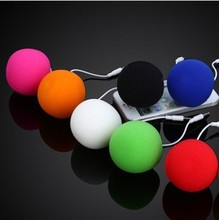 by dhl or ems 100 pieces hot sale Music Balloon Mini speakers For mp3 mp4 player Cell Phone Portable speaker 5 Colors(China)