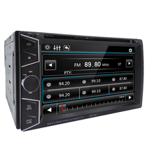 FREE Shiping Car DVD GPS Navigation 2DIN Car Stereo Radio GPS Bluetooth USB/SD Universal Player