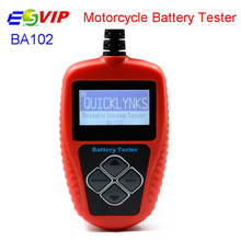5PCS/DHL free Best Price Quicklynks BA102 Motorcycle 12V Battery Tester BA102 Battery Life Analysis(China)