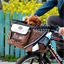 Pet Dog cat Puppy Bicycle Basket nests baskets for dogs dog pet carriers travel cycling outdoor bike part accessories