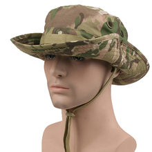Multicam Nepalese Boonie Hats Tactical Airsoft Sniper Camouflage Tree Bucket Cap Accessories Military Army American Military Men