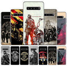 Силиконовый чехол для телефона Samsung Galaxy S20 Ultra S10 5G S10e S8 S9 S20 Plus Note 8 9 10 Plus American TV Sons of Anarchy(Китай)