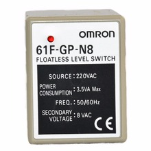 61F-GP-N8 AC220V 50/60Hz OMRON relay electronic component Solid State Relays Water level controller for Liquid level switch(China)