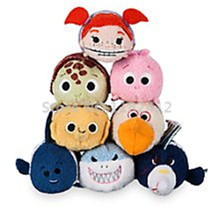 Tsum Tsum Mini Plush Toy Finding Nemo Turtle Squirt Darla Gill Shark Bruce Sheldon Pearl Nigel Cute Smartphone Screen Cleaner(China)