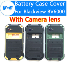 For Blackview BV6000 Case Original Battery Case+Camera lenses Phone Repair Accessory Part Battery Cover For Blackview BV6000S