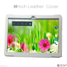 New 10 inch Original 3G Phone Call Android Quad Core Leather Cover Holster  IPS Tablet GPS  16G 7 8 9 10 android 5.1  tablet pc