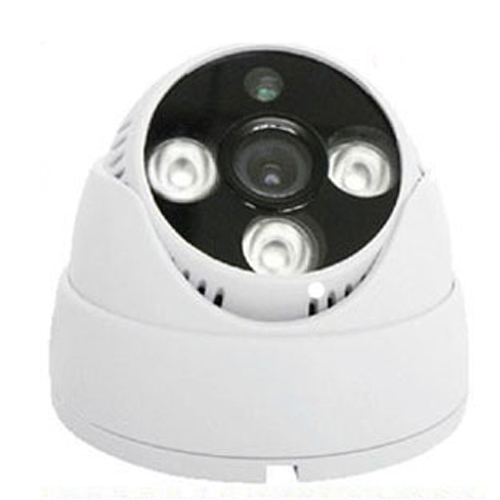 CCTV Camera Security CMOS 800 TVL CCTV Camera Three Lamps Array Infrared Dome Camera Indoor Camera Z80C<br>