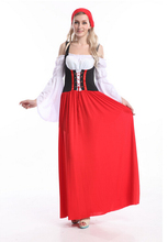 free pp real picture!!!! ZY560 Beer Maid Wench German Oktoberfest Dress Costume S-6XL(China)
