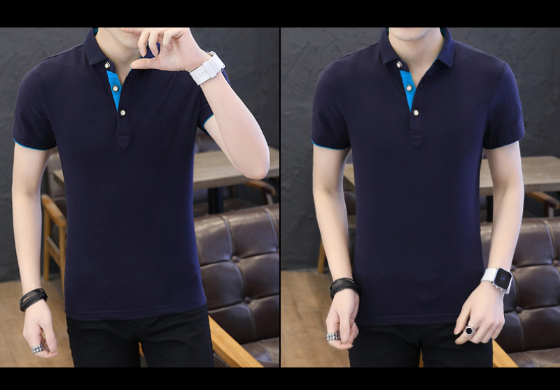 SD Polo Shirts Men 2018 New Arrivals Casual Male Polo Shirts Breathable Cotton Tops High Quality Solid camisa Polos Homme 413 23