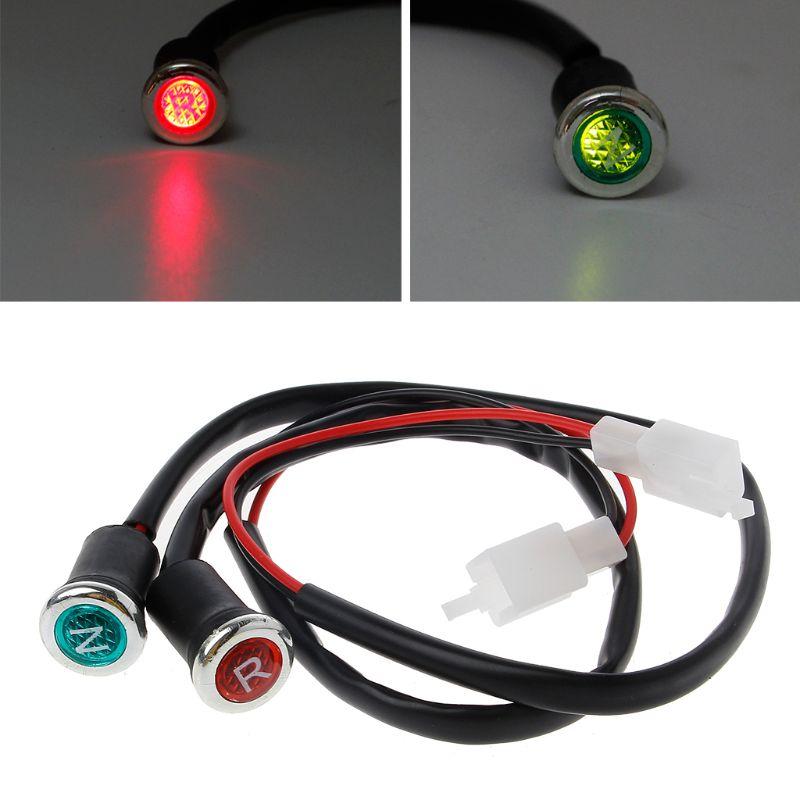 Plastic Neutral Reverse Lights Gear Indicator for ATV 250cc 200 150 125 110