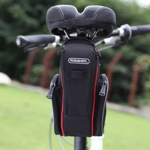 New 25*16 Foldable Bicycle Bike Saddle Back Seat Bag Outdoor Cycling Bicycle Tail Saddle Bags Pouch Large Capacity BHU2