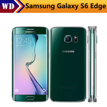 "Unlocked Original Samsung Galaxy S6 Edge G925F Mobile Phone 3GB RAM 32GB ROM Octa Core Android 16.0MP 5.1"" refurbished(China)"