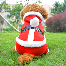 Hot Sales Brand Cotton Classic Christmas Hoodie Warm Winter Dog Clothes Coat Pet Clothing