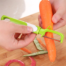 Useful Rotary Carrot Potato Peeler Stainless Steel Melon Zester Vegetable Fruit Slicer Sharpe Blades Kitchen Essential Gadget