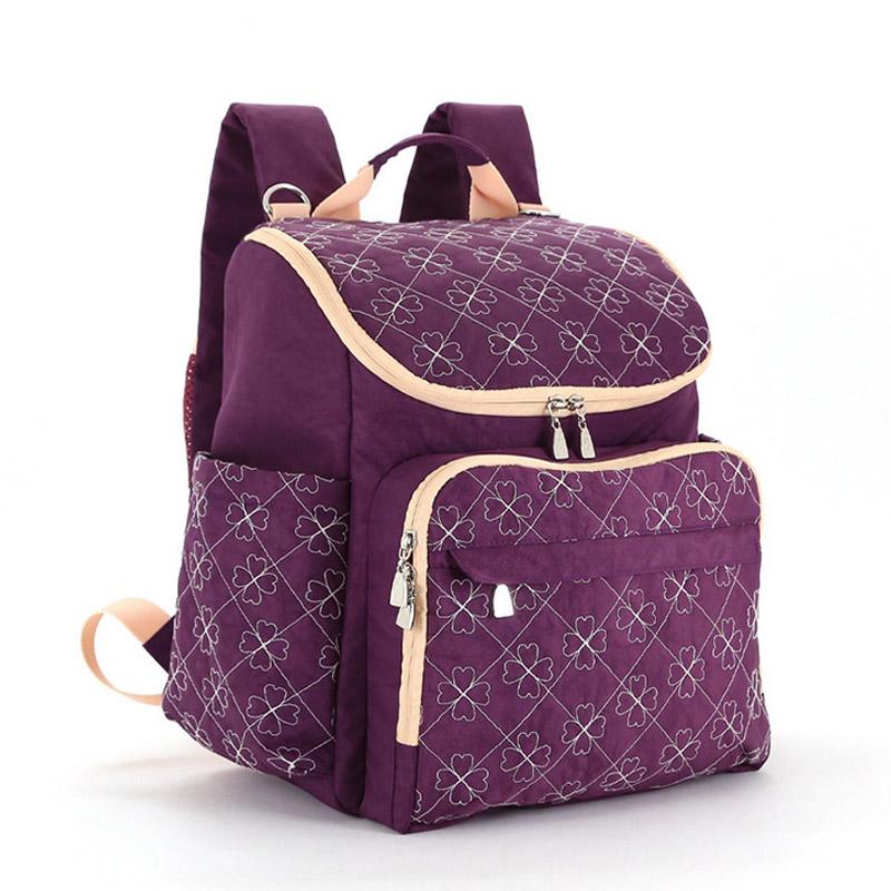 Diaper Bag Fashion Mummy Maternity Nappy Bag Brand Baby Travel Backpack Diaper Organizer Nursing Bag For Baby Stroller Wetbag (13)