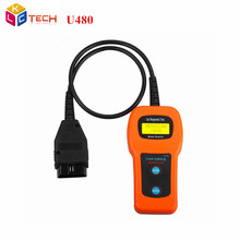 Low Price U480 OBD2 OBDII CAN BUS Code Reader Engine Scanner Automotive Diagnostic Scanner Tool Free Shipping