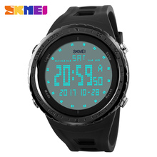 2017 Men Sport Watch Military Watches New Fashion SKMEI Brand LED Digital 50M Waterproof Swim Dress Sports Outdoor Wrist watch