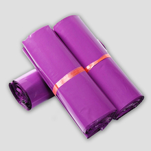 100PCS 8x13.5inch 20x34cm Pink Color Envelope mailing bags Plastic post pouches Courier Mailer Express Bags