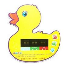 10PCS/LOTS  Duck Baby Bath Tub Bathing Water Thermometer Monitor Tester Toys Safety Cute Animals