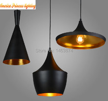 Copper shade Chandelier Lights design Pendant Lamp Beat Light ,ABC(Tall,Fat and Wide) ,3PCS/lot,E27 AC110-240V(China)
