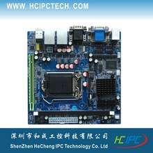 HCIPC M4211-1 ITX-HCM61X62A,LGA1155 H61 6COM 2LAN moterboard, Mini ITX Motherboard for POS,Digital signature,bank terminal etc