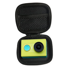SHOOT Portable Mini Box EVA Black Camera Bag Case For Gopro Hero 5 4 3 Xiaomi Yi 4K SJCAM SJ4000 C30 Yi Go Pro Accessories(China)