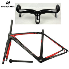 SEQUEL SL carbon road frame bicicleta super light carbon frame pf30 ud carbon bike frame with a gift handlebar made in China(China)