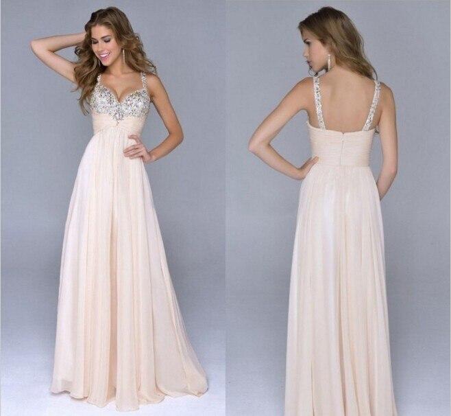 45-pretty-girl-coral-peach-purple-champagne-Spaghetti-Straps-elegant-formal-dresses-evening-gowns-2014-new
