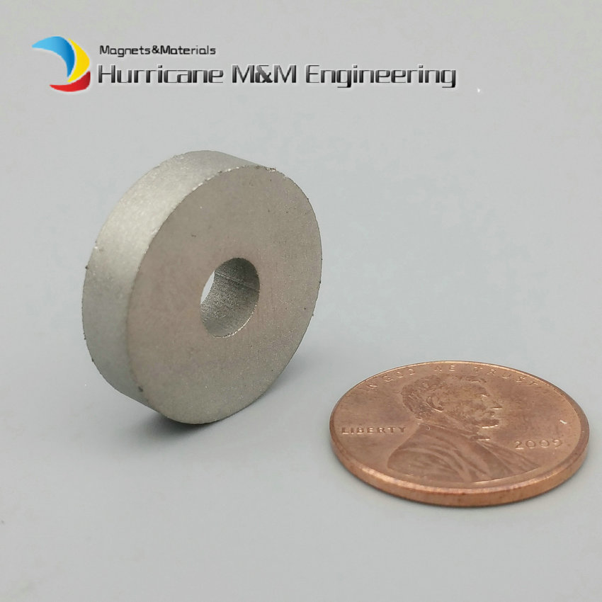 1Pack SmCo Magnet Ring OD 20x6x5 mm grade YXG24H, 350degree C operating temp Permanent Magnets Rare Earth Magnets<br>