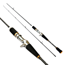 1.8m/2.1m Carbon Straight Lure Rod Outdoor Sports Fishing Rod Poles Tackle Accessories Mirror Surface Painting Rods