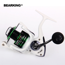 2017 Bearking  New Mela Super Light Weight  Body Max Drag 7KG Carp Fishing Reel Spinning Reel Free Shipping