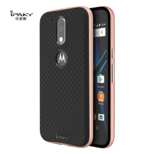For Motorola Moto G4 Plus Case Cover Original Ipaky Dual Layer for Moto G4 Cover Silicone PC Hybrid Armor Protective Shell