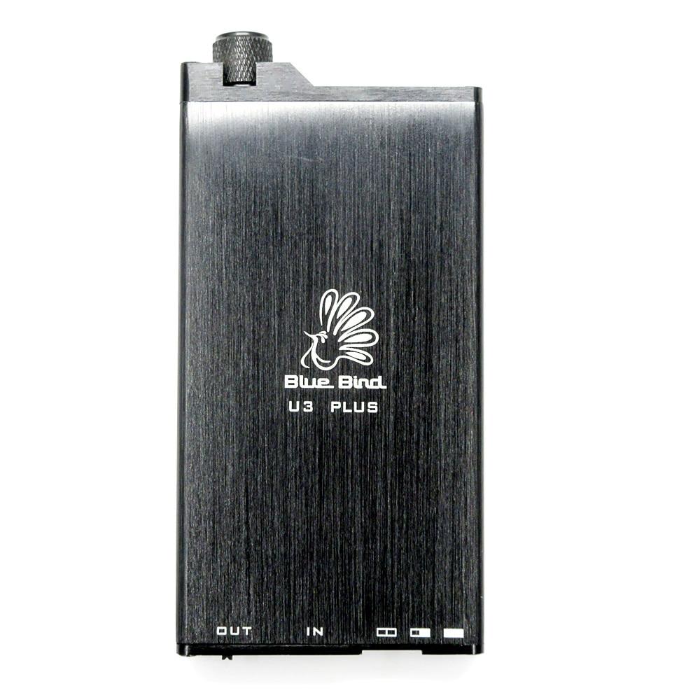 100% Newest FENGRU BlueBird U3 Plus Protable amplifier HiFi fever amplifier mini portable DIY headphone Amplifier OPA2604