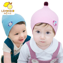 Spring Newborn Kids Hat Beanie Knitted Baby Baby Girl Cap Warm Winter Lovely Animal Monkey Toddler Baby Hat(China)