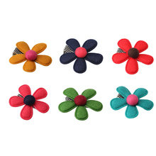 M MISM New Baby Hair Ornaments Flower Headwear Hairpins for Children Hair Accessories Barrettes Kids Girls Headdress Hair Clip