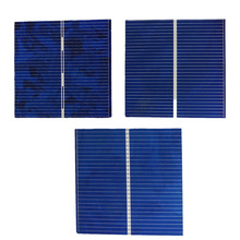 100pcs/pack 52*52*0.2mm 0.5V 0.43W DIY Polycrystalline solar cells solar panel module chip generation chip for Toy