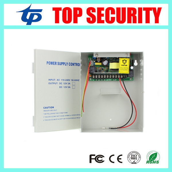 12V5A Access Control Power Supply Box 110-240V 50-60HZ Switching Power Supply UPS power box<br>