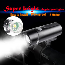 Waterproof Lamp Bike Bicycle Front 0.5w bright LED Head Light 3 modes wear-resistant materials A2(China)