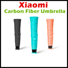 Buy 2017 Xiaomi Umbracella Brand Carbon Fiber Ultralight Rainy Sunny Umbrella 85g Weight Strongly Windproof Xiaomi Umbrella for $22.59 in AliExpress store