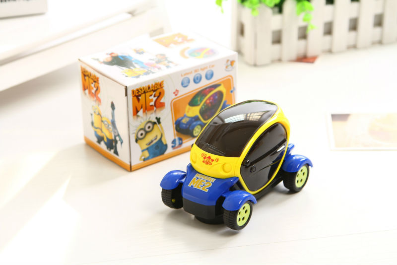 Science fiction car model electric toy car model universal wheel 3D lighting electric toy car model Children's Toys gift