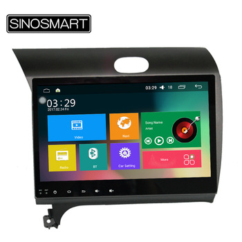 SINOSMART Quad Core 2 GB 32G ROM Android 5.1 Voiture de Navigation GPS pour Kia K3/Cerato/Forte 2013-2015 Soutien 4G NoCanbus