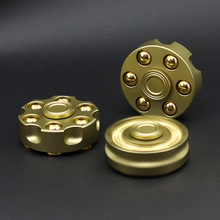 Revolver Bullets Spiner Fidget Hand Spinner Metal Toy Finger Spinner For Autism and Anxiety Stress handspinner Toys