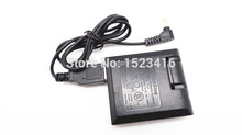 Black Wired Switching Power Supply Adapter For PSP Game Console Wired USB Adaptor For Sony Wholesale Retail Free Shipping