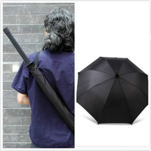 Samurai swords umbrella folding umbrella sword creative Half self-opening umbrella Wind uv protection Deadpool Umbrella top sale